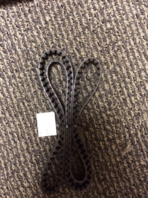 Used Life Fitness LC9500HR Upright Bike Power Grip Belt $27