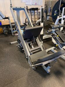Used Body Solid Hack Squat Leg Press